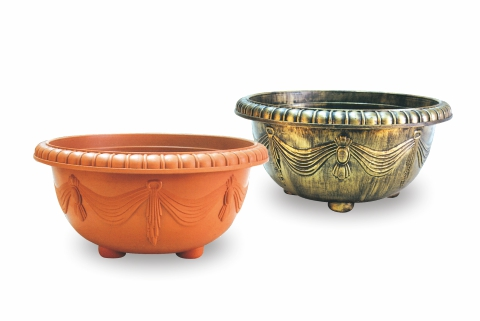 【Aiermei Lotus Pot】Embossed Curtain Lotus Pot