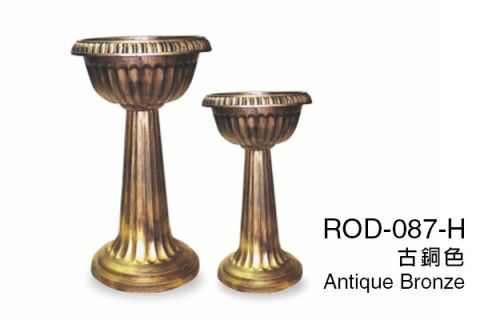 【艾爾鎂-酒杯系列】ROD-087-H 高腳蓮花盆