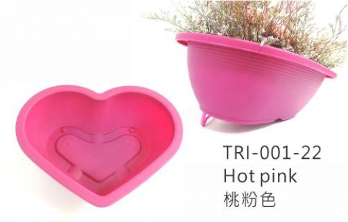 【艾爾鎂-造型盆栽】TRI-001 心型花盆